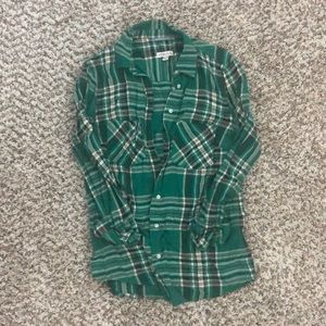 Merona Plaid Button Down